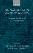 Cover for Bilingualism in Ancient Society