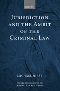 Cover for Jurisdiction and the Ambit of the Criminal Law