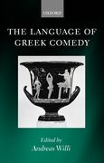 Cover for The Language of Greek Comedy