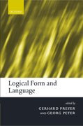 Cover for Logical Form and Language