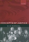 Cover for Concepts of Justice