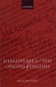 Cover for Shakespeare and the Origins of English