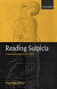 Cover for Reading Sulpicia