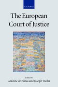 Cover for The European Court of Justice