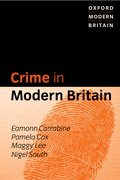 Cover for Crime in Modern Britain