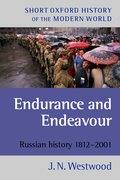 Cover for Endurance and Endeavour