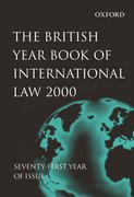 Cover for The British Year Book of International Law