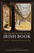 Cover for The Oxford History of the Irish Book