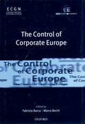 Cover for The Control of Corporate Europe