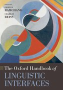 Cover for The Oxford Handbook of Linguistic Interfaces