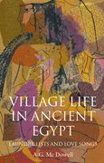 Cover for Village Life in Ancient Egypt