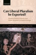 Cover for Can Liberal Pluralism Be Exported?