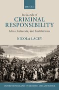 Cover for In Search of Criminal Responsibility - 9780199248209