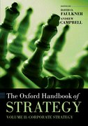 Cover for The Oxford Handbook of Strategy