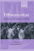 Cover for Ethnosyntax