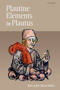 Cover for Plautine Elements in Plautus