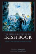 Cover for The Oxford History of the Irish Book, Volume V