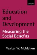 Cover for Education and Development