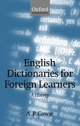 Cover for English Dictionaries for Foreign Learners