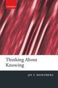 Cover for Thinking about Knowing