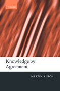 Cover for Knowledge by Agreement