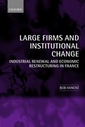 Cover for Large Firms and Institutional Change