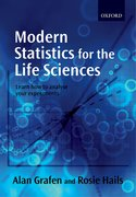 Cover for Modern Statistics for the Life Sciences