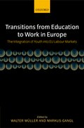 Cover for Transitions from Education to Work in Europe