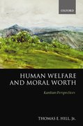 Cover for Human Welfare and Moral Worth