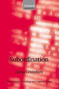 Cover for Subordination