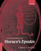 Cover for A Commentary on Horace