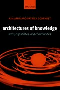 Cover for Architectures of Knowledge