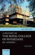 Cover for A History of the Royal College of Physicians of London