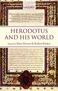 Cover for Herodotus and His World