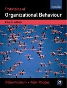 Fincham & Rhodes: Principles of Organizational Behaviour: 4e