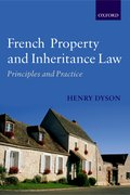 Cover for French Property and Inheritance Law