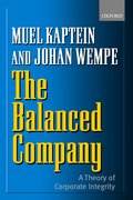 Cover for The Balanced Company