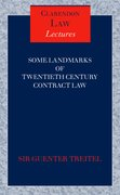 Cover for Some Landmarks of Twentieth Century Contract Law
