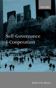 Cover for Self-Governance and Cooperation