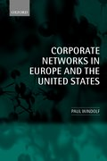 Cover for Corporate Networks in Europe and the United States