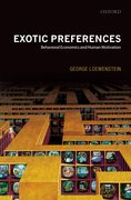 Cover for Exotic Preferences