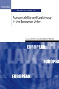 Cover for Accountability and Legitimacy in the European Union