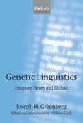 Cover for Genetic Linguistics