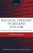 Cover for Political Thought in Ireland 1776-1798