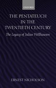 Cover for The Pentateuch in the Twentieth Century