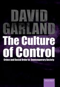Cover for The Culture of Control