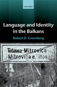 Cover for Language and Identity in the Balkans