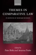 Cover for Themes in Comparative Law