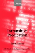Cover for Intransitive Predication