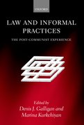 Cover for Law and Informal Practices